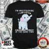Elephant I'm Multitasking I Can Listen Ignore And Forget At The Same Time Shirt