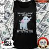 Elephant I'm Multitasking I Can Listen Ignore And Forget At The Same Time Tank Top