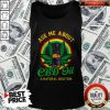 Love Ask Me About Cbd Oil A Natural Solution Tank Top