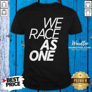 Good McLaren We Race As One Mind Shirt