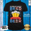Good I'm Gonna Need Another Beer To Wash Down This Beer American Flag Shirt