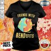 Jaded Friends With Benefits Gumby 1 V-neck